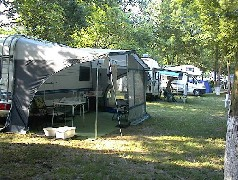 Pap-Sziget Camping by Budapest Szentendre